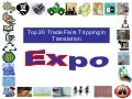 Top 20 Trade Fairs Tripping In Translation