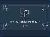 The Top Publishers of 2014