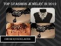 Top 5 fashion jewelry  in 2012