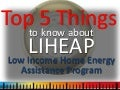 Top 5 things to know about low-income home energy assistance