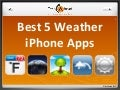 Top 5 Weather iPhone App
