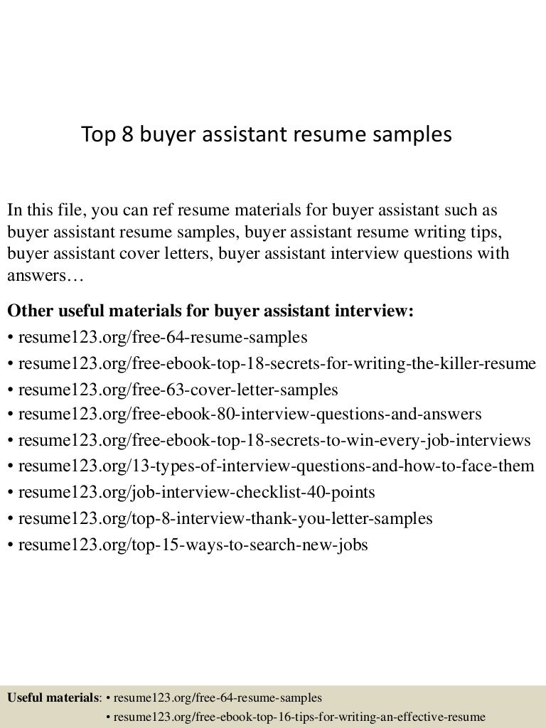buyer resume objective resume sample retail buyer resume samples ...