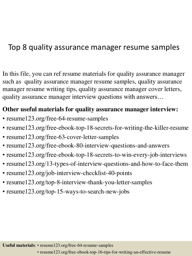 qa resume objective resume objective quality assurance engineer       resume for quality assurance My Perfect Cover Letter