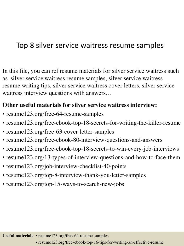 waitress resume skills examples waitress cv example for restaurant bar livecareer sample resume for fast seangarrette sample resume for a waitress