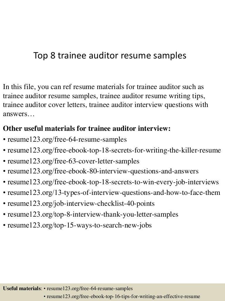 internal auditor resume - Demire.agdiffusion.com