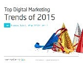 Top Digital Marketing Trends of 2015