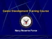 Navy RESERVE Latest Presentation as...