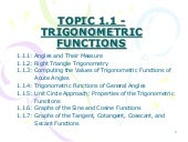 Trigonometry Functions