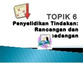 Topic 6 AR planning & proposal