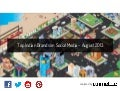 [Report] Top Indian Brands on Social Media for August 2013 by Unmetric