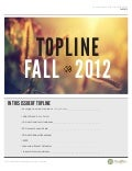 NorthWest MRA Topline Newsletter - Fall 2012