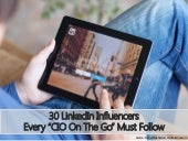 LinkedIn Influencers Every CIO Must Follow