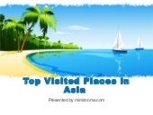 Top Visited Places in Asia