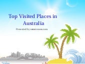 Top Visited Places in Australia
