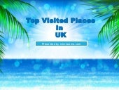 Top Visited Places in UK