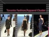 Toronto Fashion Cluster Slide Prese...