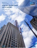 Colliers Toronto office market report 2015 q3