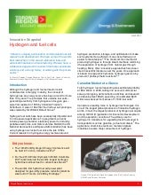 Toronto Region - Hydrogen Fuel Cell...
