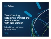What has IBM Watson been up to since the Jeopardy! challenge?