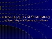 Total Quality Management-A Road Map...