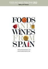 Food and Wine from Spain Tasting- G...