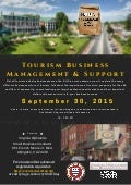 Tourism Business Management & Support, Sept. 30, 2015