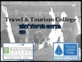 TTIA's Tourism College - Why You've Gotta Go