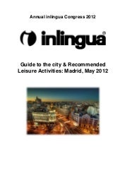 Tourism guide for annual Inlingua c...