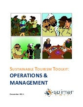 Sustainable Tourism Toolkit: Operat...