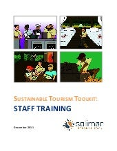 Sustainable Tourism Toolkit: Staff ...