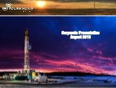 Tourmaline Oil Corp. video