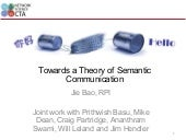 Towards a theory of semantic commun...