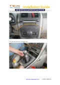 Toyota corolla dvd player gps navigation installation guide