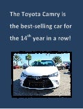 Toyota Camry is the best-selling car in America again!
