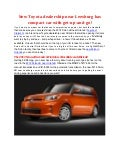 Toyota of Clermont Will Offer New Scion xB!