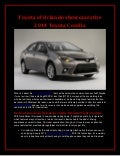 Toyota of Orlando showcases the 2014 Toyota Corolla