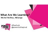 The Pixel Lab 2015 | What Are We Learning? - Michel Reilhac