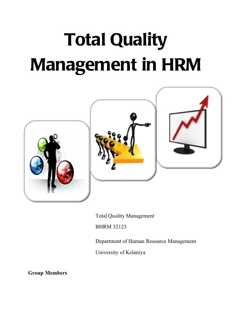 Image result for Total Quality Management Principles in hrm