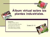 ALBUN VIRTUAL PLANTAS INDUSTRIALES