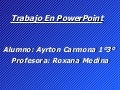 Trabajo en power point