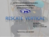 Trabajo power point rescate vertical