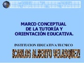 Trabajo Tutoria 2009