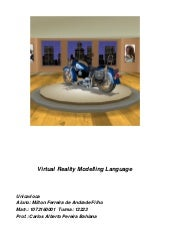Vrml - Virtual Reality Modelling La...