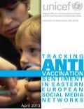 Tracking anti vaccine-sentiment in Eastern European social media networks