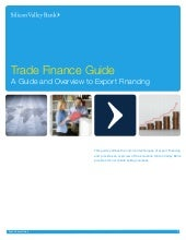 Guide to Trade Finance