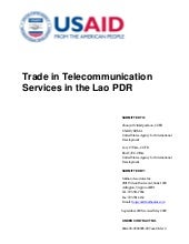 Trade in telecommunication services
