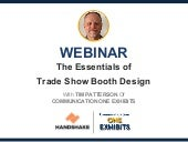 Essentials of Tradeshow Booth Design