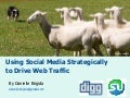 Using Social Media Strategically to Increase Web Traffic