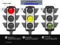 Traffic light animated