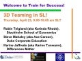 Train for Success: 3Dteaming in SL!